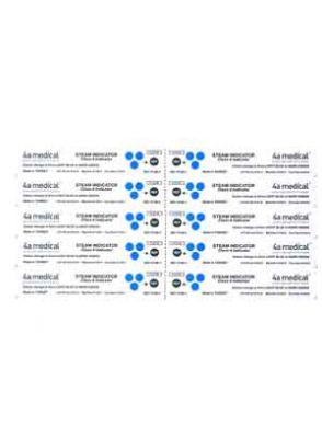  اندیکاتور شیمیایی کلاس 4 اتوکلاو بخار 4a medical بسته ی 250 تایی