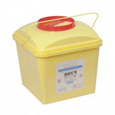  سیفتی باکس شیمیایی درب با قفل قهوه ای 8 لیتری بکر کارتن 42 تایی
