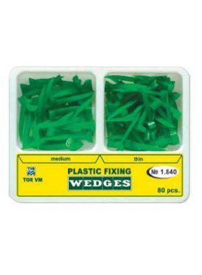  وج پلاستیکی دوسایز 80 عددی سبز TOR VM