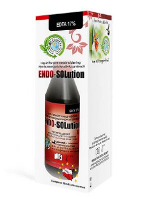  محلول EDTA 17% اندو سولوشن برند Cerkamed