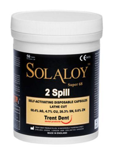 |آمالگام کپسول Solaloy Super 68 برند Trent dent