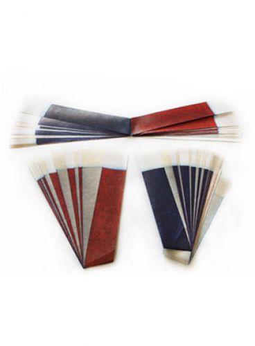 |کاغذ کاربن دو رنگ بسته  80 گرمی معادل 300 الی 350 عددی برند زلال طب شیمی