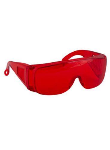 |عینک محافظ لایت دسته ثابت جعبه 10 عددی برند زلال طب شیمی