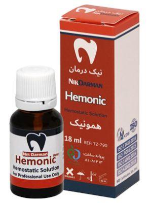  محلول خونبند همونیک 18میل برند نیک درمان